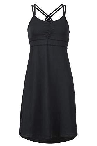 Marmot Damen Taryn Dress Funktionskleid Skirt, Black, XL