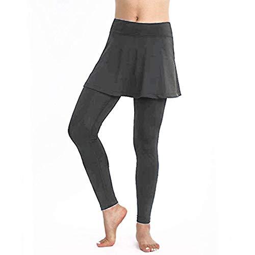 Soolike Mallas De Deporte De Mujer, Leggins Pantalon Deporte Yoga, Leggings Mujer Fitness Suaves Elásticos Cintura Alta para Reducir Vientre ,Pantalones Casuales Deportivos De Color Puro
