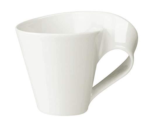 Villeroy & Boch NewWave Caffè Tasse, 250 ml, Premium Porzellan, Weiß