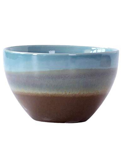 wsetrtg Tazones de Cereales Tazón de Sopa de Fideos Tazón de Ensalada de cerámica Creativo Tazón de Frutas Tazón de Sopa de arroz Tazón de Ramen Plato casero Desayuno Gachas de Avena tazón pequeño