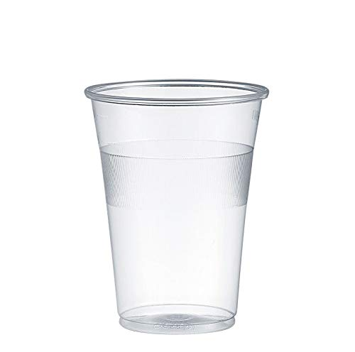 Gastro-Bedarf-Gutheil 1200 Trinkbecher, Plastikbecher 0,3 l transparent mit Füllstrich Feste Qualität Bierbecher Einwegbecher PP