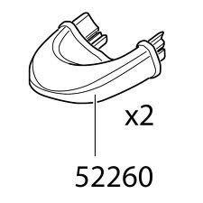 Thule EuroClassic G69281 Endkappen für Anhängerkupplung von Fahrradträgern, 52260