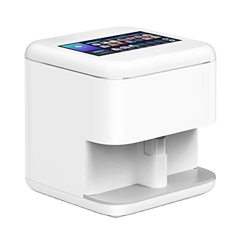 3D Nail Printers, Multifunction Portable Mobile Wifiwireless All-Intelligent Nail Printers, Easy To Carry Used in Home And Beauty Salon