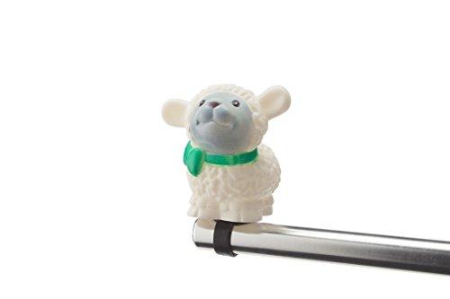 Boninbike Cartoons Campanello a Pupazzo pecorella Bianca