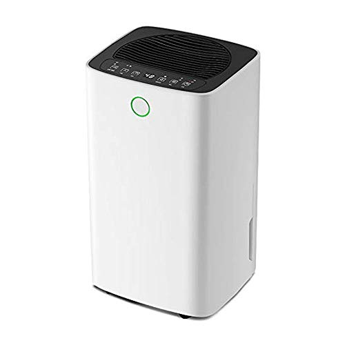 Review TGhosts Dehumidifier, Household Electric Small Bedroom/Basement Moisture Absorber, LED Intell...