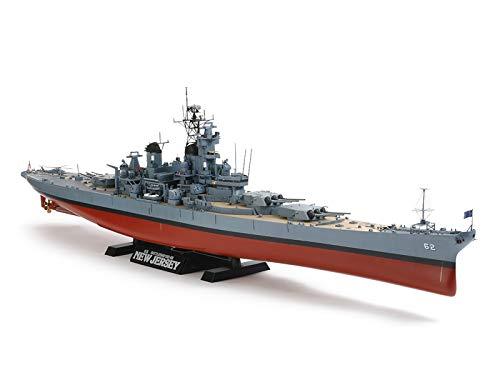 Tamiya Models US Battleship New Jersey BB-62 Model...