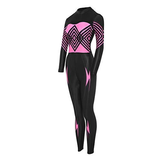 Womens lange mouwen UV bescherming tegen de zon Sport Dive Skin Compleet pak Swimsuit Swimwear for Zwemmen Surfen Duiken Snorkelen