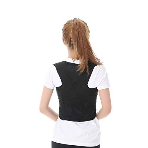 ZPWSNH - Cinturón de apoyo para ortosis de postura, soporte para clavícula, para hombre o mujer, ajustable, para evitar el alivio de tensión, Medium