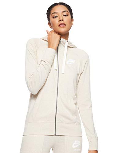 Nike Damen Hoodie Sportswear Gym Vintage, Oatmeal/Sail, M, 883729-140