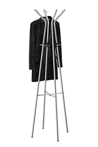 ZACK Elegante Edelstahl-Garderobe TEROS - (50688)