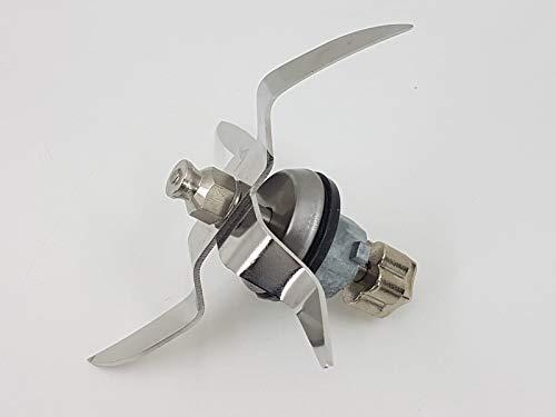 T-MIX Cuchillas DE Acero para Robot DE Cocina Monsieur Cuisine Connect, Robot SILVERCREST del LIDL.