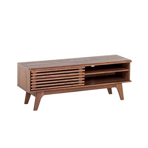 Beliani Cómoda - Mueble TV - Mueble de salón en MDF - Nogal - Toledo