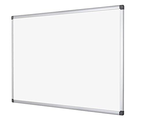 Bi-Office Maya - Pizarra magnética con marco de aluminio, color blanco, color...