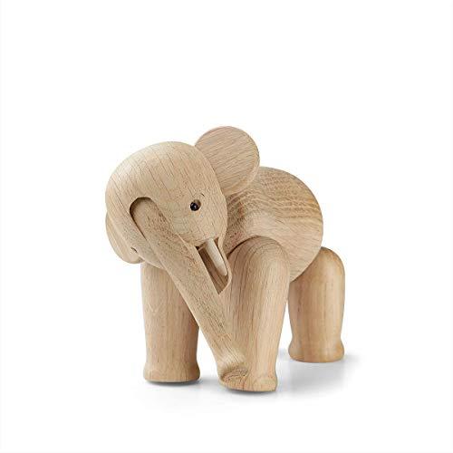 Kay Bojesen Elefant, Eiche, beige, 12cm x 7,5cm x 9,5cm