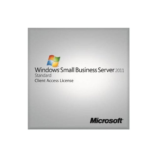 Windows Small Businesss CAL Ste 2011 64Bit English 1pk DSP OEI 5 Clt User CAL (This OEM software is intended for system builders only) [import anglais]