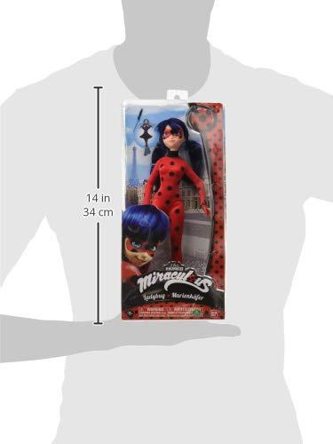 Giochi Preziosi Italy - Miraculous Fashion Doll Ladybug con Accessorio, 27 cm