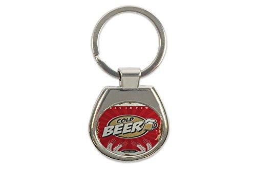 Schlüsselanhänger Bier Bar Kneipe Bier 1956 bedruckt