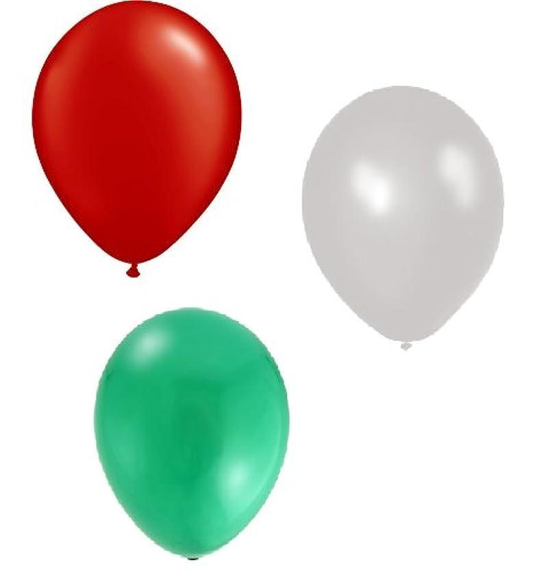 Toyland 30 Italy Euro 2016 Balloons - Green/White/red 12