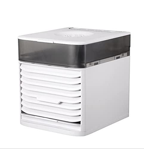 Mini Aire Acondicionado Ventilador De Aire Acondicionado 7 Color Luz Usb Aire Acondicionado Portátil Es Ventilador De Refrigeración De Aire Párrafo Ordinario