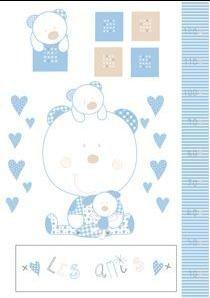Bright Brands Sportsgoods 542 Les Amis 115 13 Frise décorative pour enfant