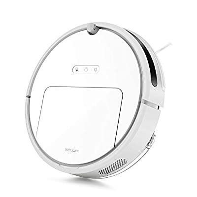Roborock E20 Robot Vacuum Cleaner, Vacuum and Mop Robotic Vacuum Cleaner, 1800Pa Strong Suction, App Control, Route Planning for Pet Hair, Hard Floor, Carpet (Renewed)