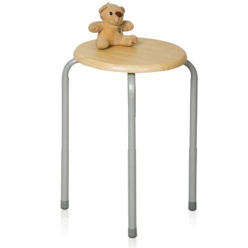 Klappstühle Holz-Stuhl aus Stahl Stuhl Stuhl Stuhl Stuhl Versorgung mit 30 * 46cm Holz Farbe Liegestuhl