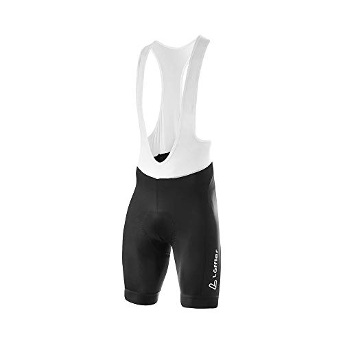 LÖFFLER Herren Bike Bib Shorts Hotbond® Bibtights schwarz 52