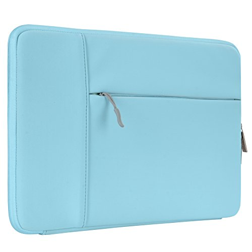 HSEOK 13-13.3 Inch Laptop Sleeve Case, Environmental-Friendly Spill-Resistant Sleeve for 13-Inch MacBook Air 2012-2017, MacBook Pro Retina 2012-2015/Pro 2012 A1278 and Most 14-Inch Laptop, Teal