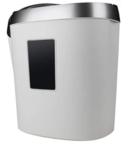unknow Aktenvernichter, Shredder für Bürobedarf 5 Querschnitt-Papierschredder für zu Hause mit 17 l Altpapier Kapazität Sichtbares Fenster 350 * 250 * 390 mm
