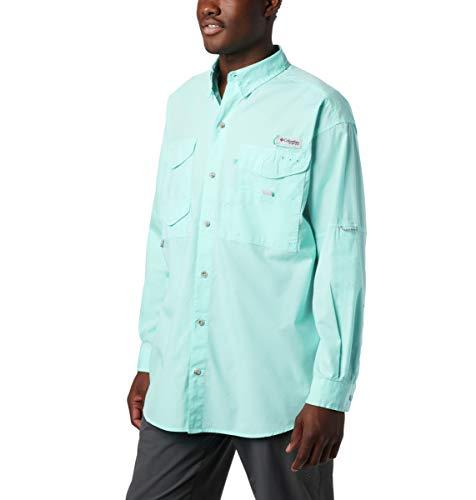 Columbia Men's Standard Bonehead SS Shirt, Gulf Stream, Large
