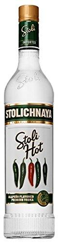 Stolichnaya Stoli Hot flavoured Vodka 37,5% 0,7l Flasche