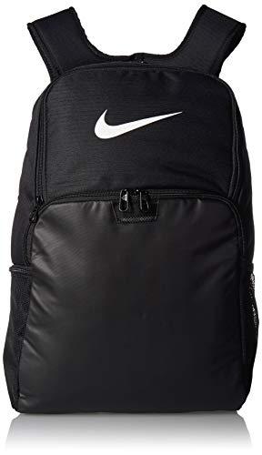 NIKE Brasilia XLarge Backpack 9.0, Black/Black/White, Misc