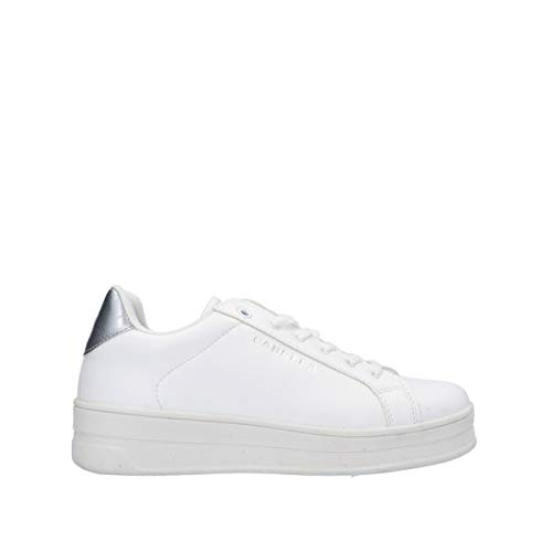 Carrera CAW018210/03 Sneaker Bianco/argentoEcopelle39