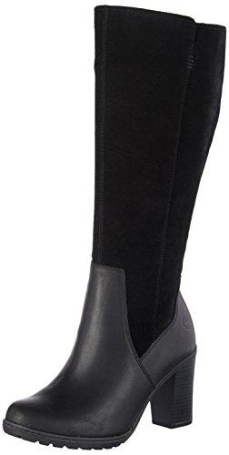 Timberland Damen Linwood Tall Stiefel, Schwarz (Black), 39 EU