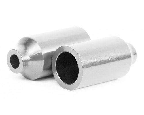 Blazer Pro Canista Scooter Pegs - Zilver