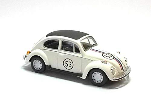 Cararama VW Käfer Nummer 53 `Herbie` Druckguss Modell Auto von The Love Käfer