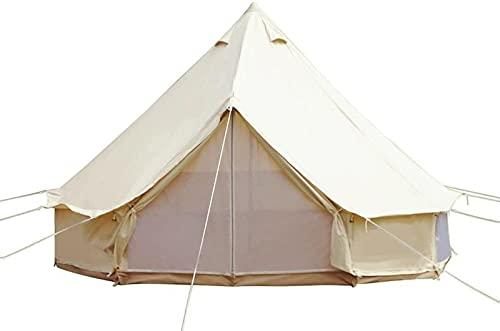 SFSGH Carpa de algodón de 4 Estaciones Carpa Glamping Impermeable Carpa para Acampar...