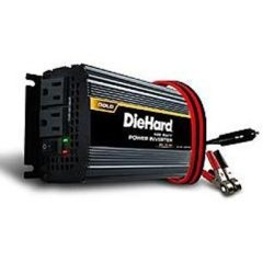 Power Inverter, DieHard, 850 Peak Watts, 425 Continuous Watts, 2 AC Outlets, HD Battery Clamps, new