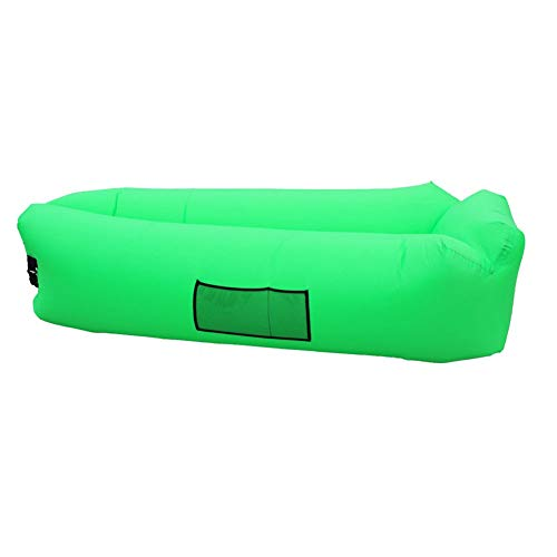 MFWallMirror Inflatable Camping Mat Air Chair Sofa Bed Sleeping Bag Outdoor Inflatable Sofa Lazy Sofa Bed Couch For Beach Camping Lake Garden Summer