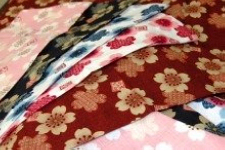 子供用鯉口シャツ【さくら】綿100% 色/赤?ピンク?エンジ?青?濃紺 サイズ/7号サイズ(135~145cm)