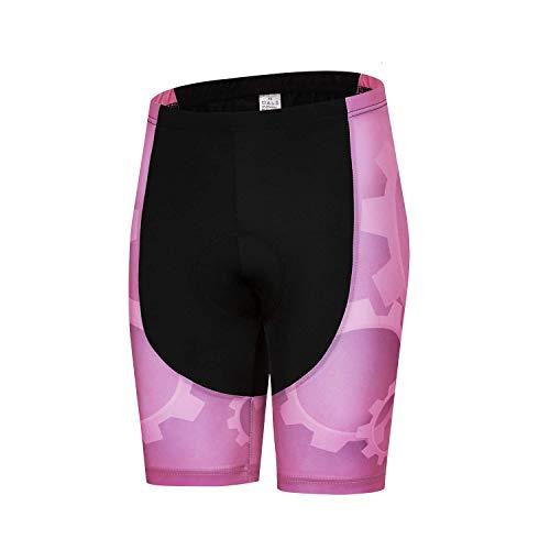 Weimostar Women's Cycling Bike Shorts with 3D Gel Padded Bicycle Shorts Lady MTB Sportswear Pink Size XXL