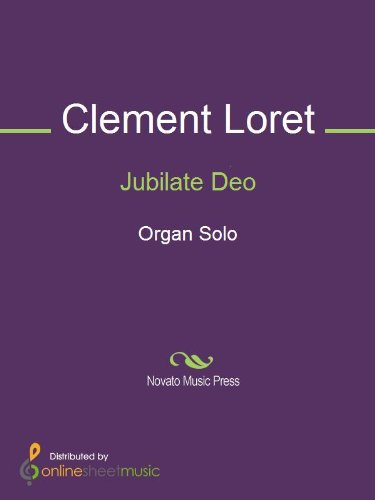 Jubilate Deo (English Edition)
