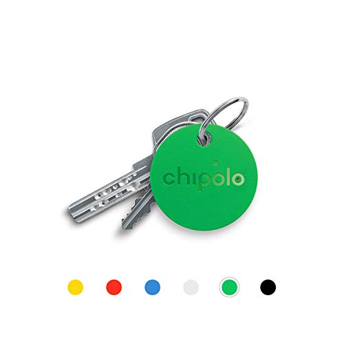 Chipolo Classic Bluetooth Schlüsselfinder und Handyfinder, Austauschbare Batterie, 92dB Laut, 60m Reichweite I Schlüssel nie wieder verlieren - (Grün)