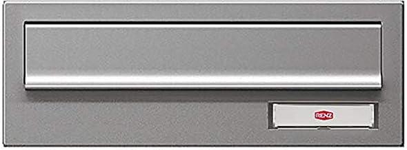 RENZ /muurdoorwerpbrievenbus gleuf postkast/RAL-kleur/kastbreedte 260 mm/diepte 180-250 mm/staal - RSK-klep met RSA2-bel &...