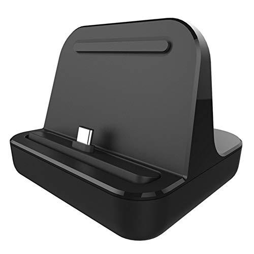 Kolaty para Cargador de Base Tipo C Carga de Escritorio USB C 3.1 EstacióN de Base para TeléFono Android 5V 2A para TeléFonos Inteligentes Tipo C