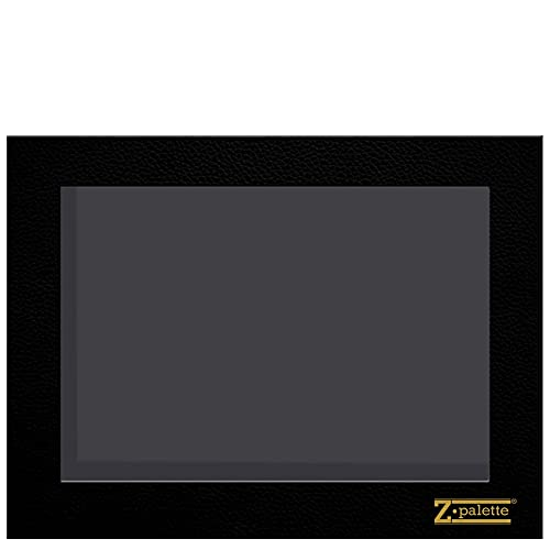 Z Palette Extra Large Black Empty Magnetic Makeup Palette with Clear Window