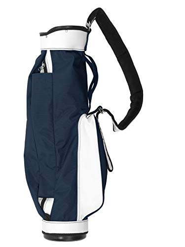 Jones Original Carry Golf Bag, Navy and White
