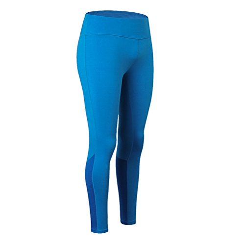 Zhhlaixing Women's Compression Yoga Tights Leggings Running Fitness Workout Gym Breathable Quick Dry Pants with Light Reflection Strip