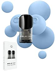 【正規品】MK Lab RELX CBD カートリッジ Blue Burst (ブルーベリーアイス) ニコチンフリー 電子タバコ cbdリキッド【フレーバー紹介資料付き】