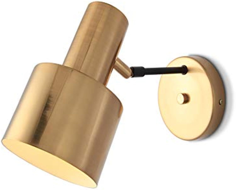 Modenny Innenwandleuchte Schlafzimmer Nachttischlampe Kreative Gold Eisen Kunst E27 Wandleuchte Lichter Einfache Moderne Wohnzimmer Restaurant Cafe Korridor Treppen Gang Leuchte
